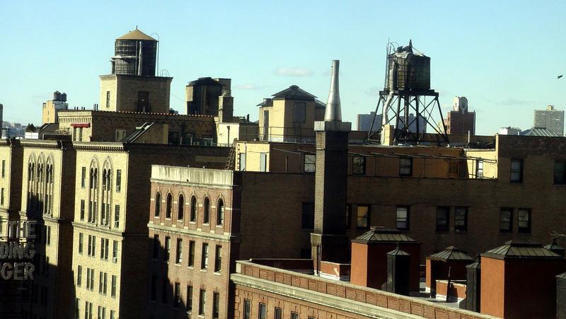 Über den Dächern New Yorks