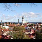 ...Über den Dächern Tallinns...