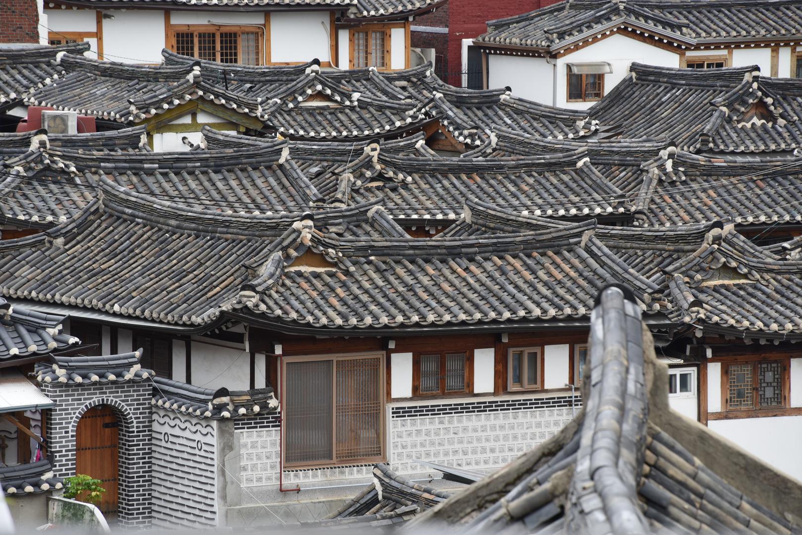 Über den Dächern von Alt-Seoul