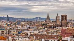 Über den Dächern von Barcelona I