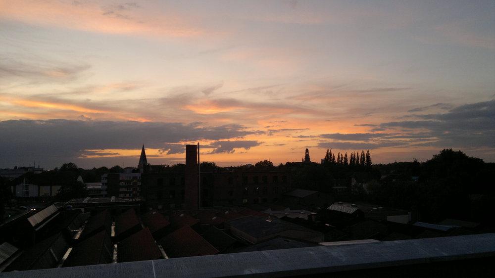 über den Dächern von Bocholt