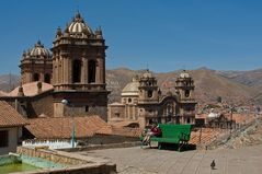 Über den Dächern von Cuzco