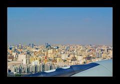 Über den Dächern von Doha.