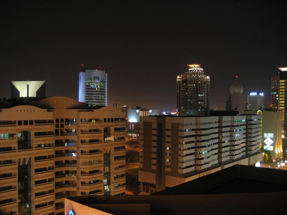 Über den Dächern von Dubai