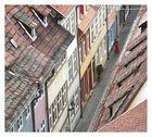 Über den Dächern von Erfurt.