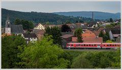 Über den Dächern von Ernsthausen