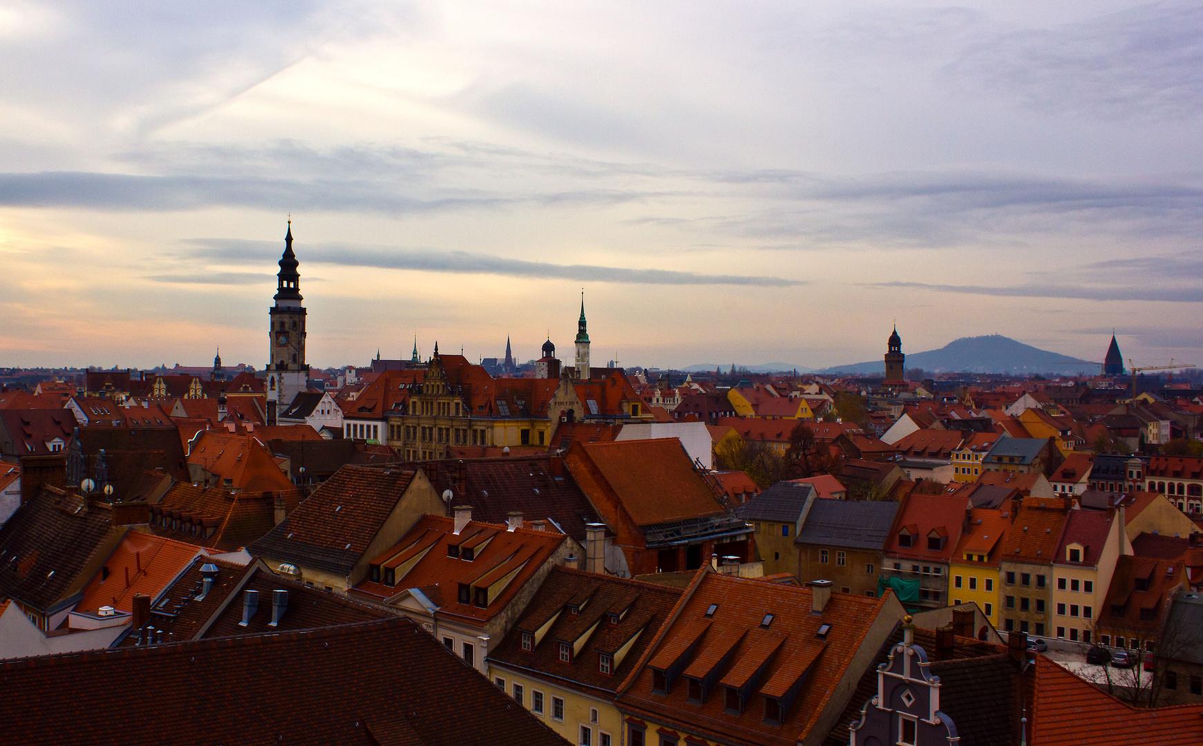 Über den Dächern von Görlitz