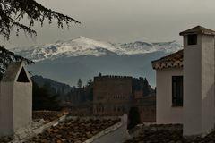 Über den Dächern von Granada