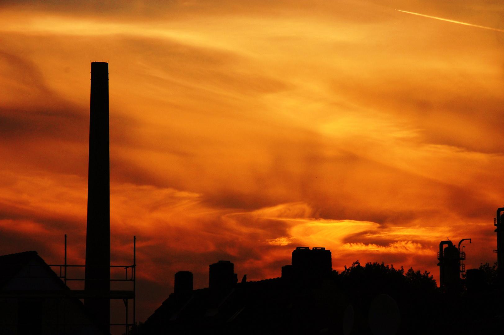 ...über den Dächern von Herne-Mitte