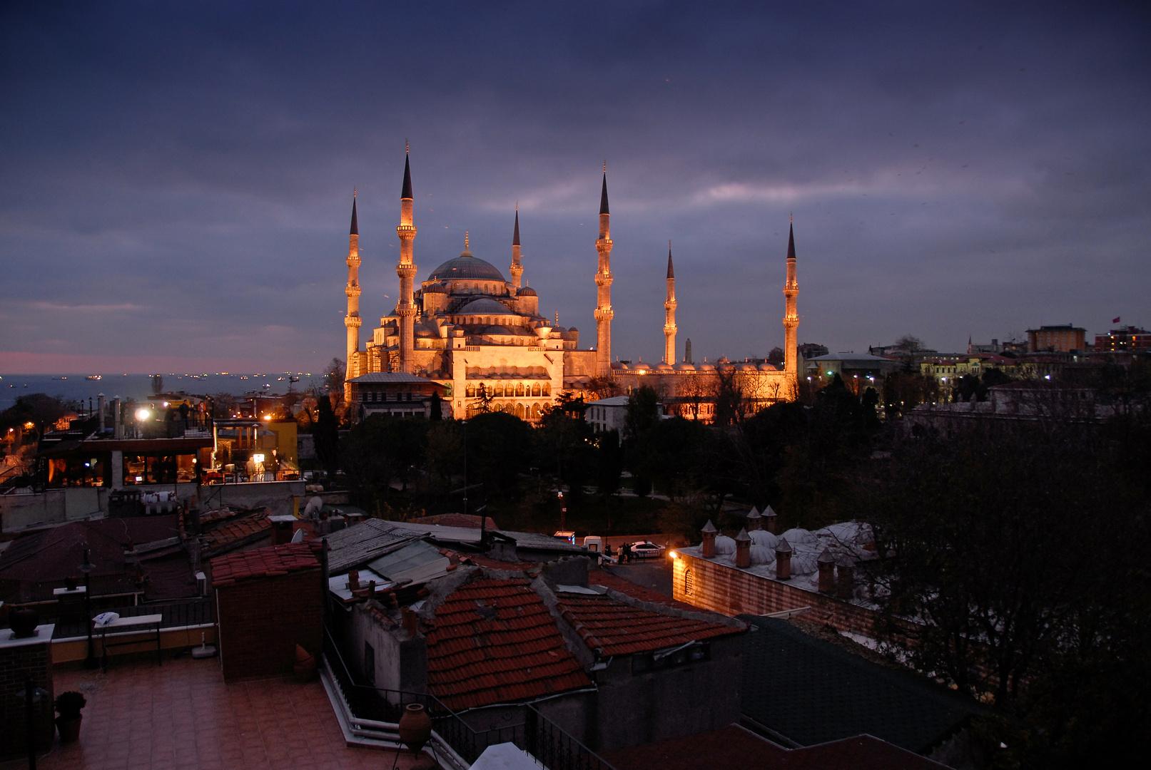 Über den Dächern von Istanbul...