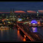 Über den Dächern von Köln ..