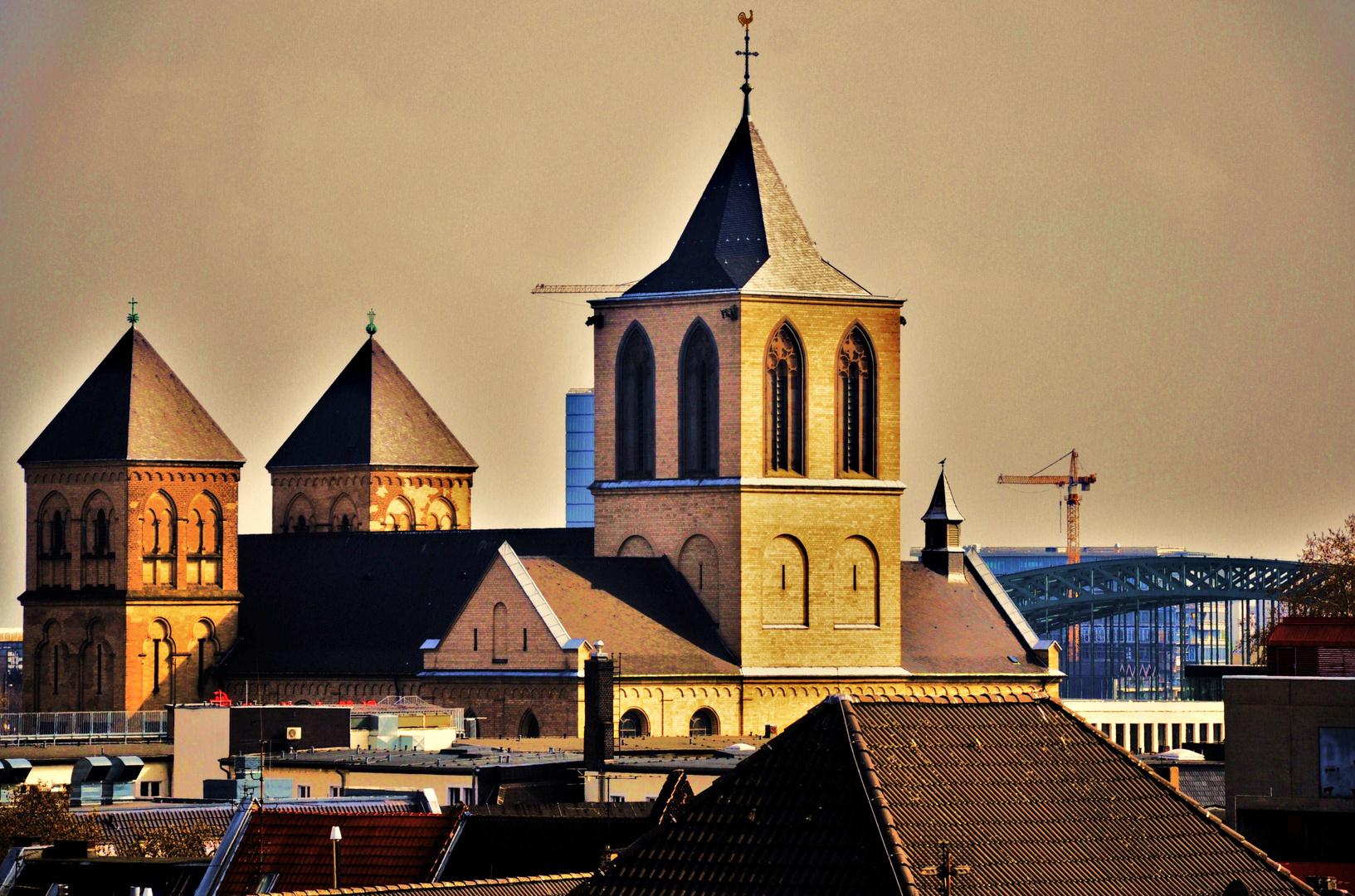 Über den Dächern von Köln...2