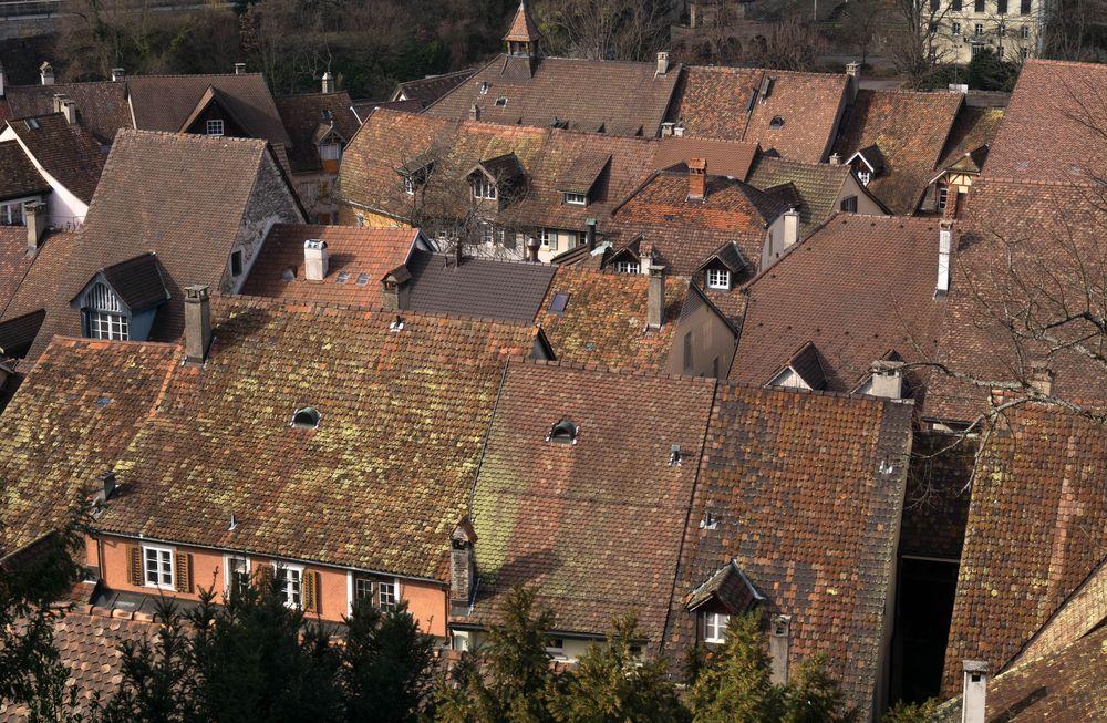 Über den Dächern von Laufenburg