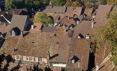 Über den Dächern von Laufenburg (Schweiz)