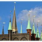 Über den Dächern von.... Lübeck