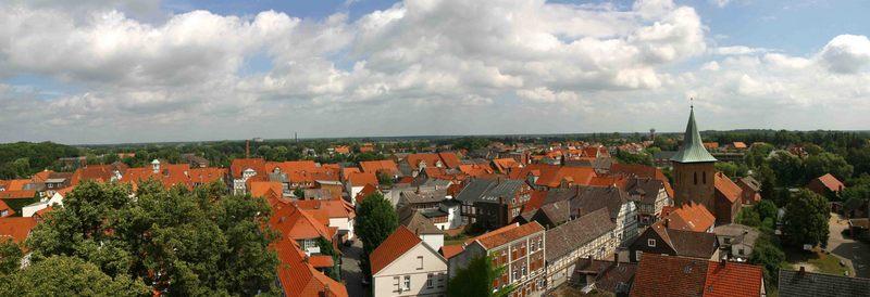 Über den Dächern von Lüchow