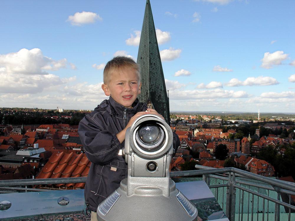 Über den Dächern von Lüneburg