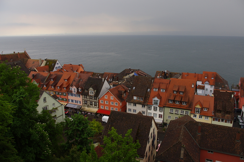 Über den Dächern von Meersburg