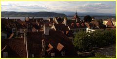 Über den Dächern von Murten / Morat