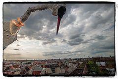 über den Dächern von Neukölln...
