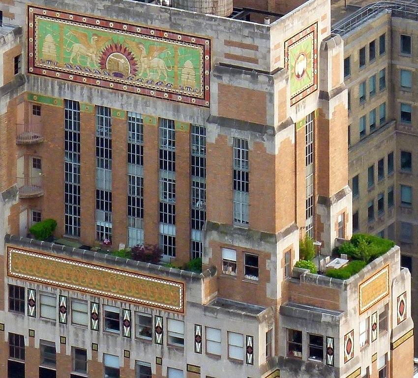 ...über den Dächern von NY...