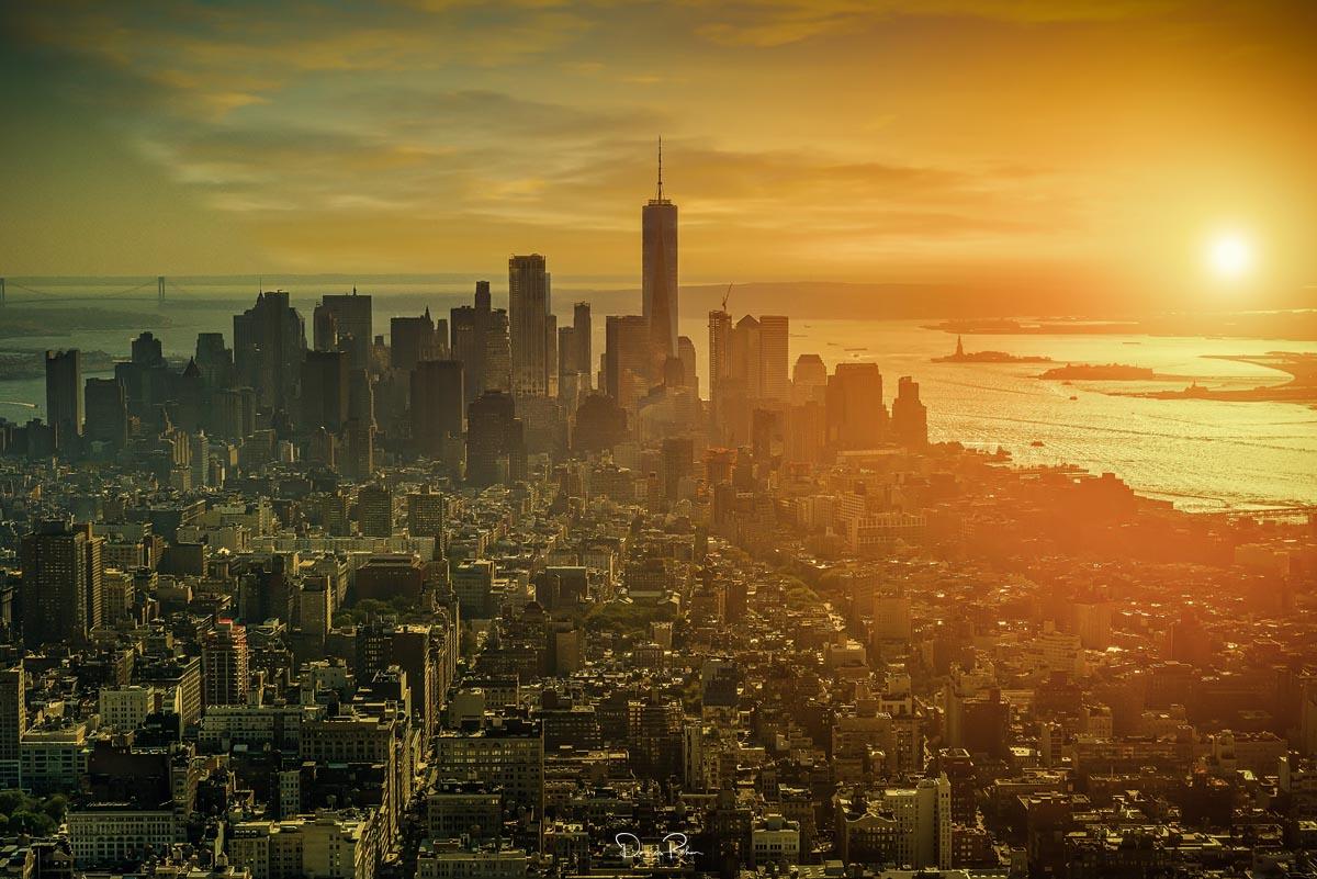 Über den Dächern von NYC