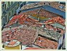 Über den Dächern von Palavas les Flots