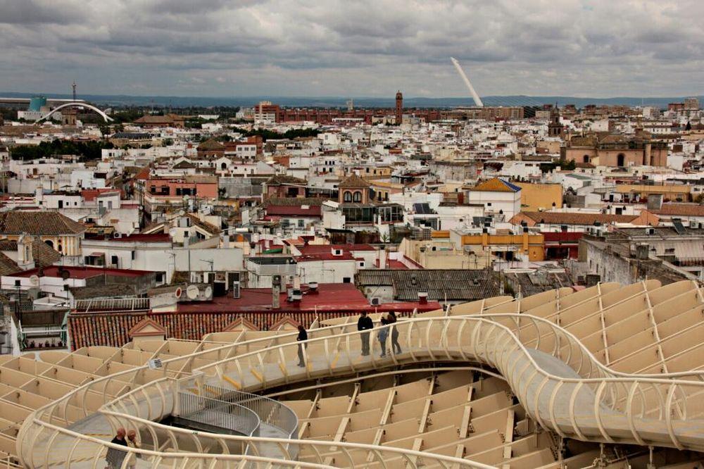 über den Dächern von Sevilla