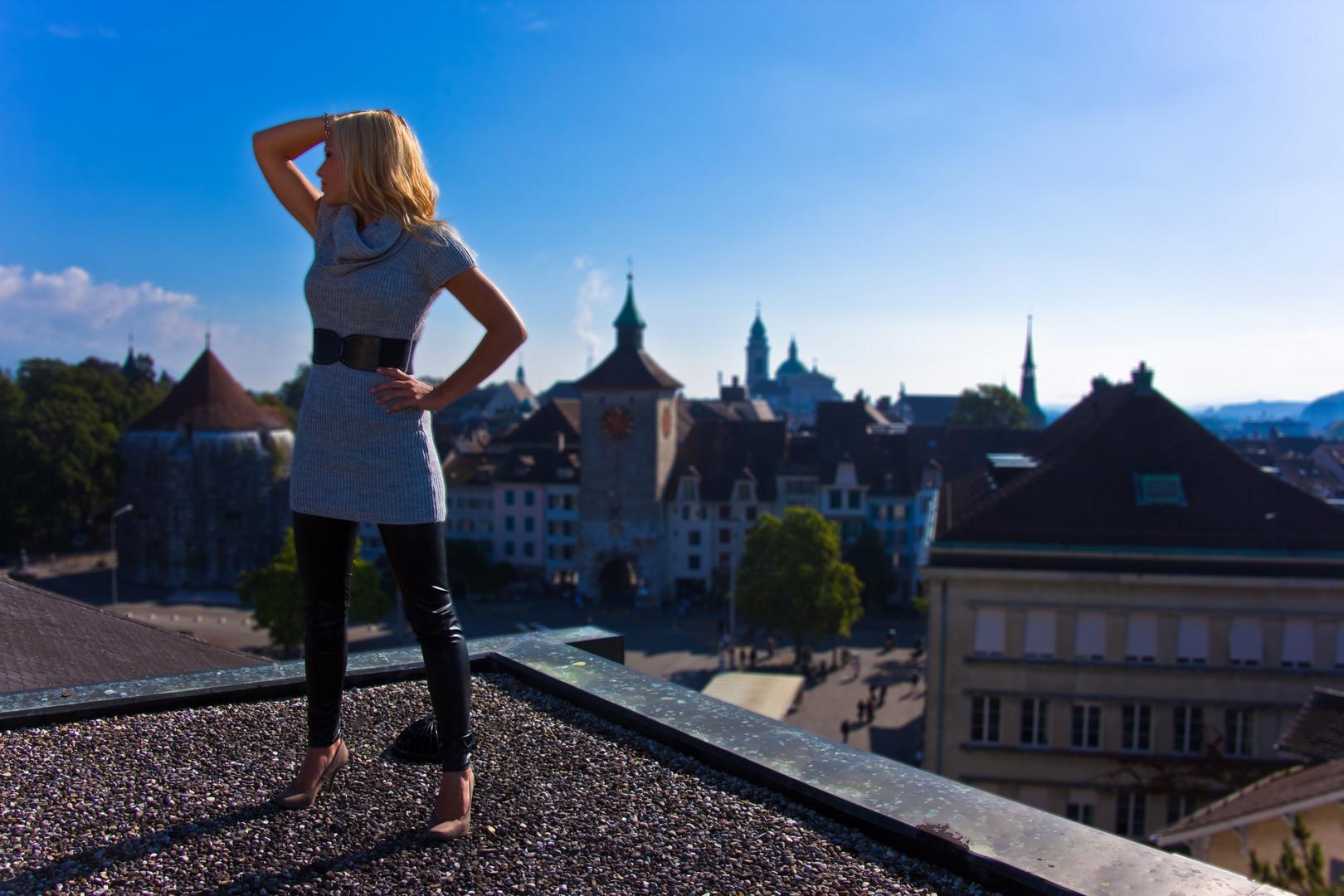 Ueber den Dächern von Solothurn