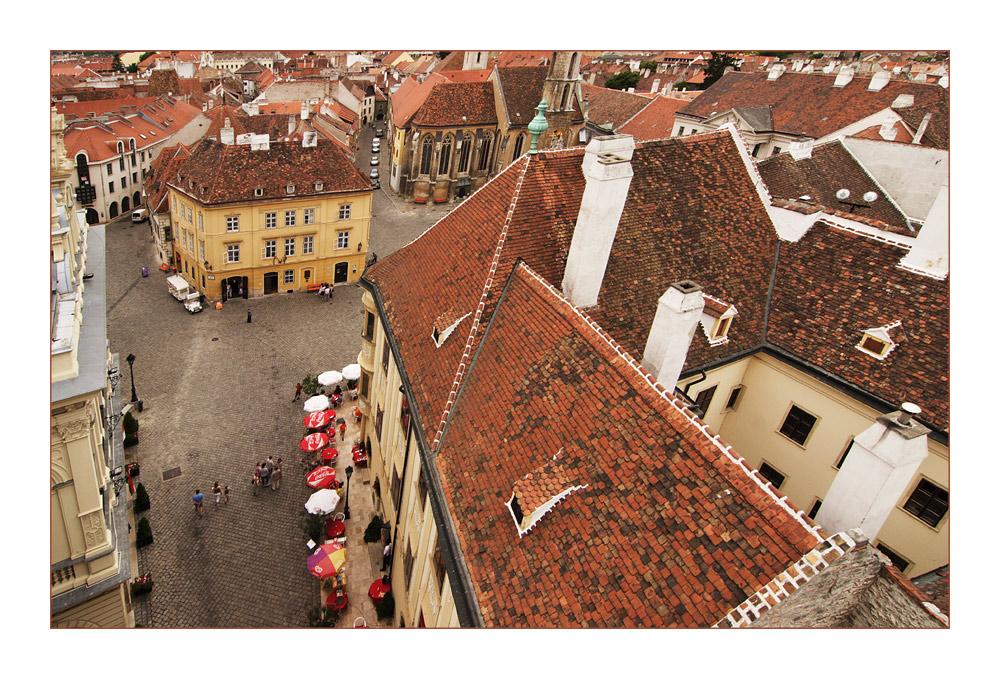 Über den Dächern von Sopron