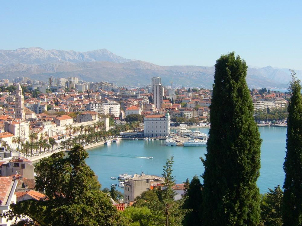 Über den Dächern von Split