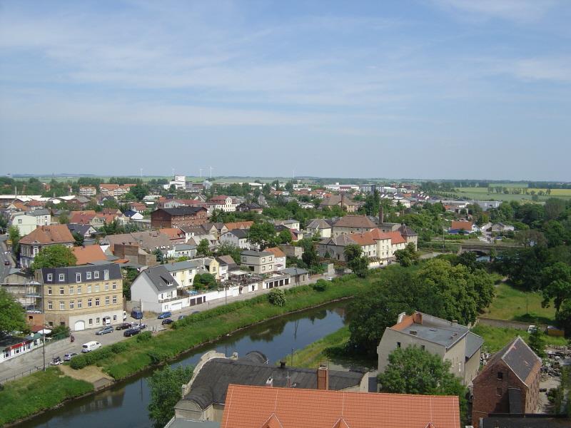 Über den Dächern von Staßfurt