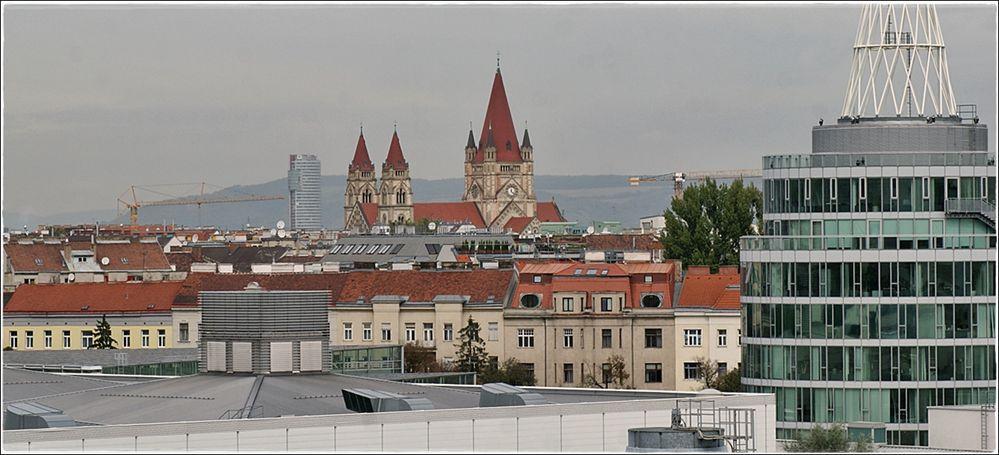Über den Dächern Wiens....
