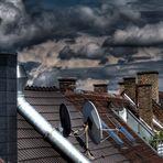 Über den Dächern.......Kontraste......