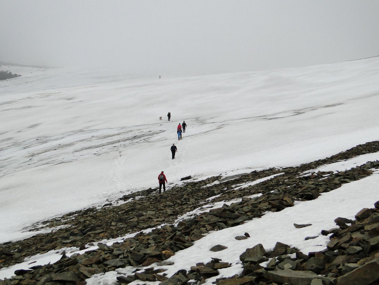 Über den Gletscher