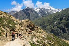 Über den Himalaya (2)
