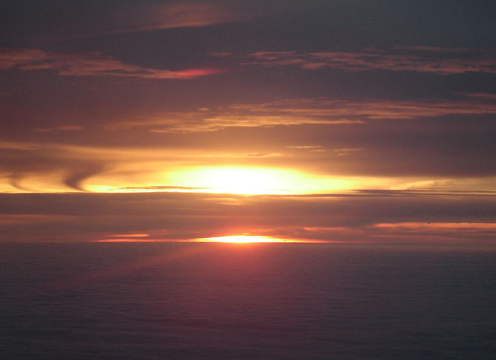 Über den Wolken 2 ...