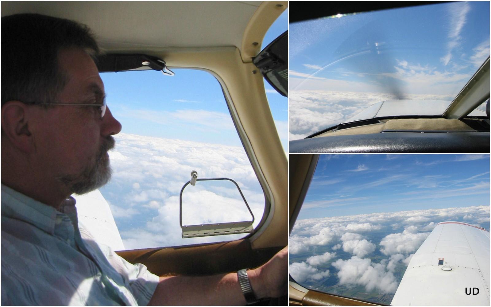 Über den Wolken.........