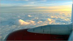 ... über den Wolken ...