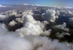 Über den Wolken ..