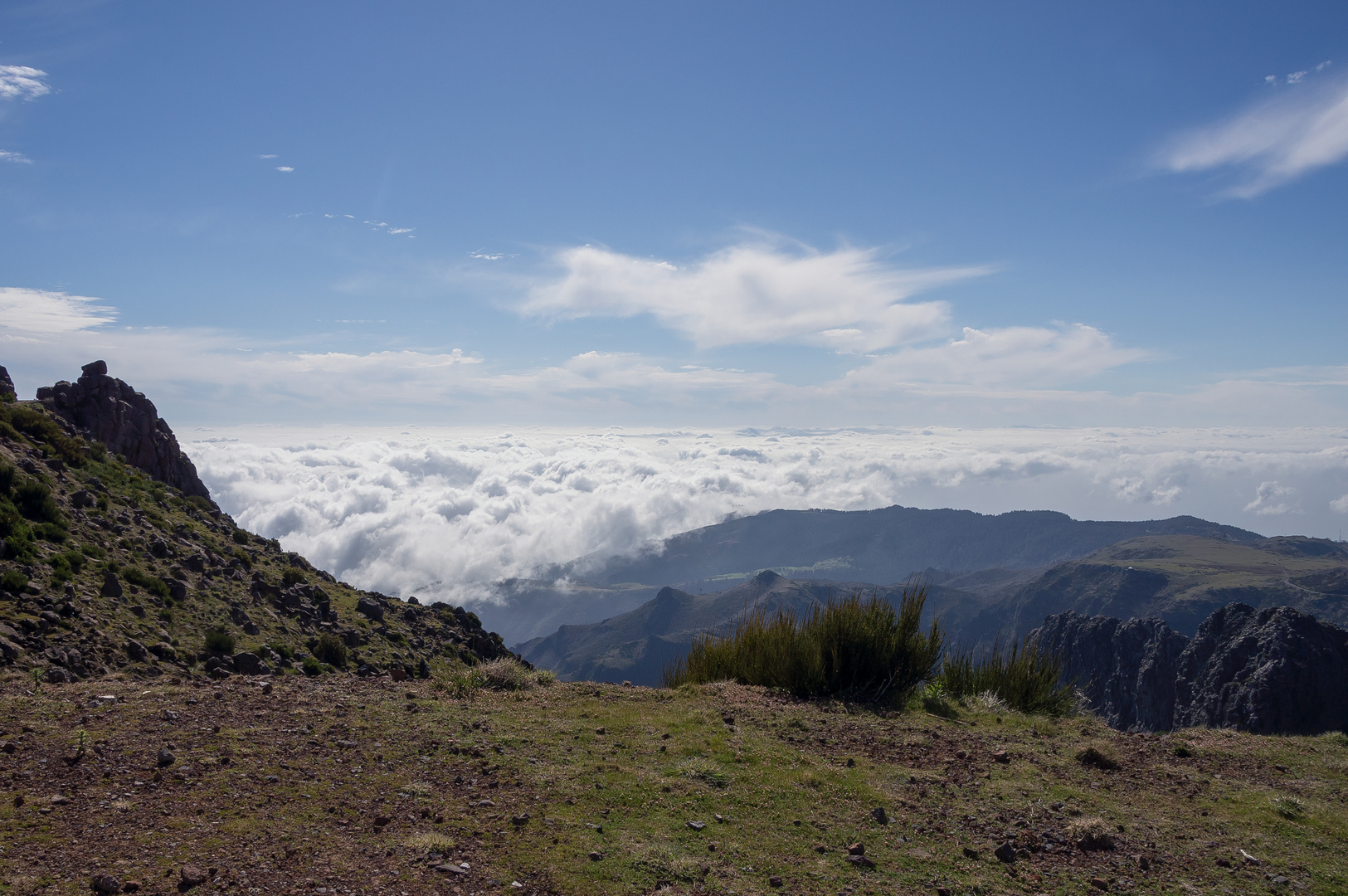Über den Wolken