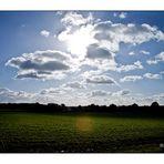 über den Wolken....... da muß die Freiheit........