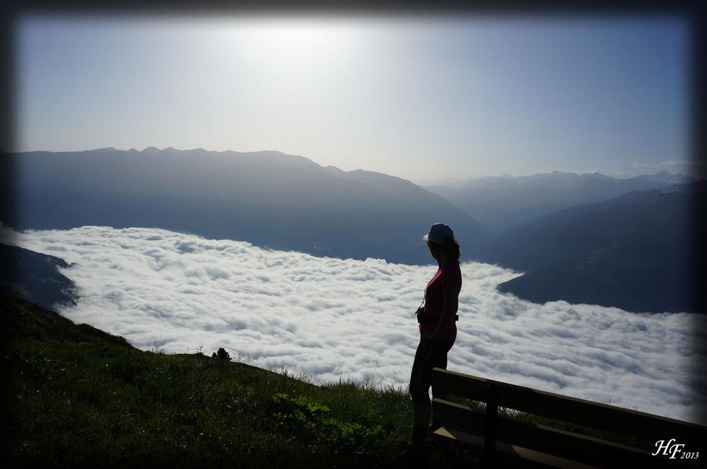Über den Wolken des Zillertal´s