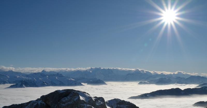 Über den Wolken - die Rigi