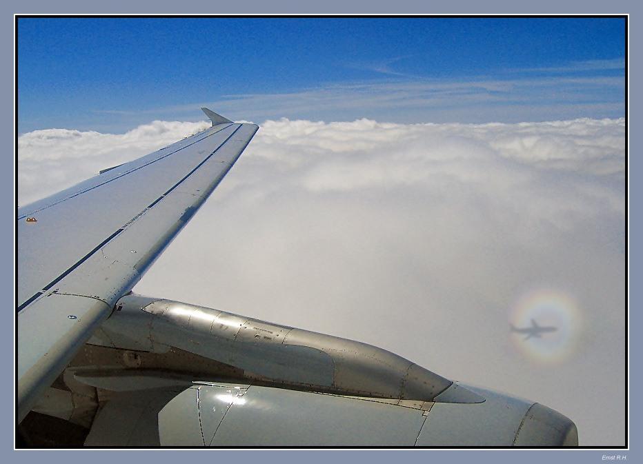 Über den Wolken - gemogelt