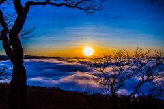 Über den Wolken ist die Sonne am schönsten