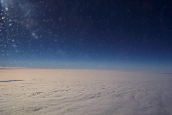 Über den Wolken scheint immer die Sonne ....