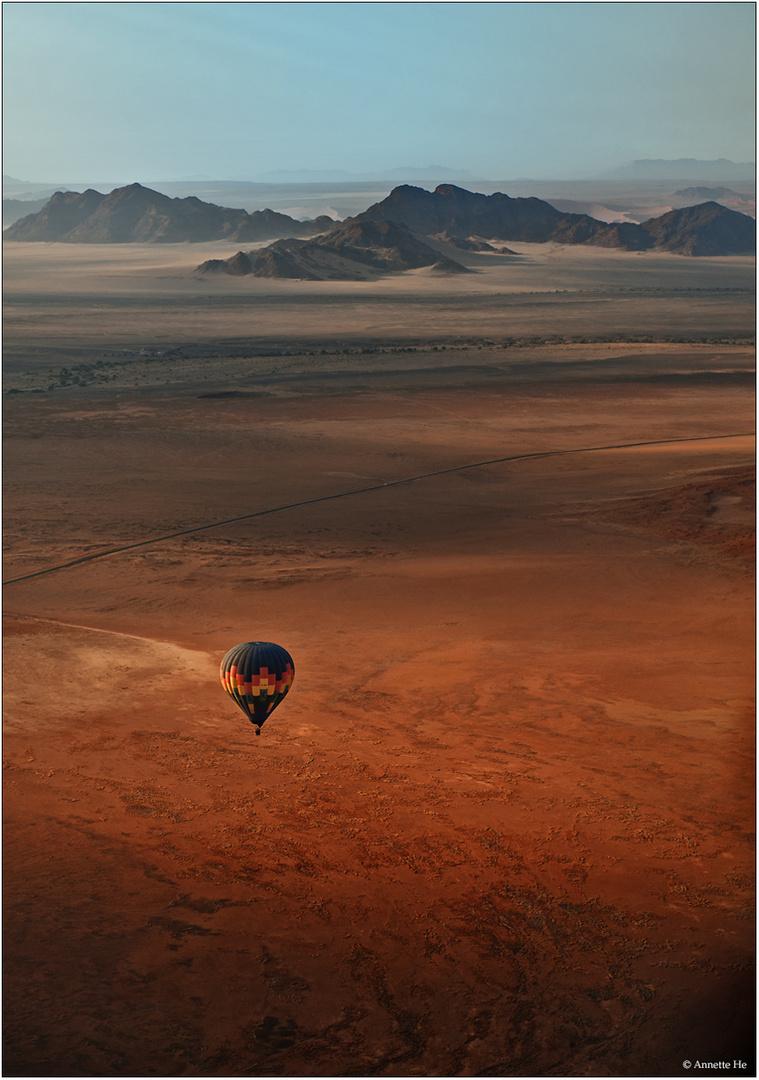 Über der Namib