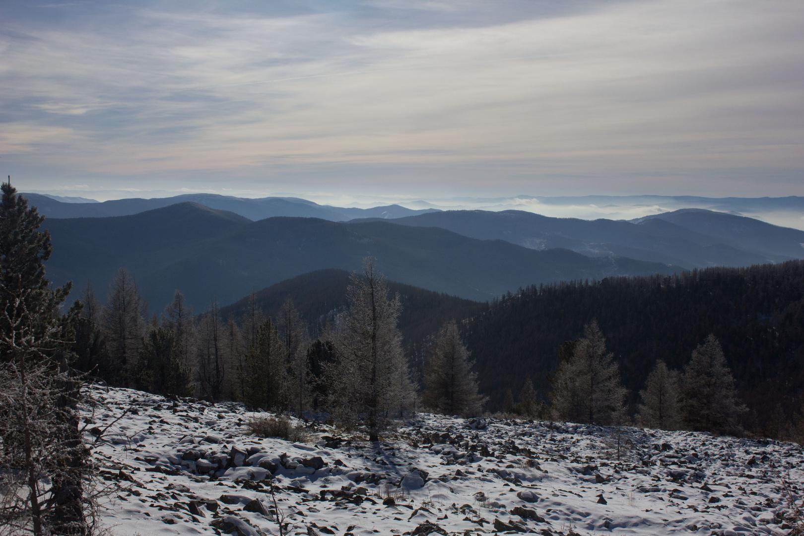 Über die Berge