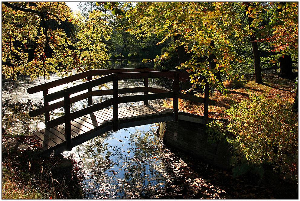 Über die Brücke geh´n...